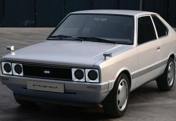 Hyundai Pony EV Heritage: nostalgisch en futuristisch