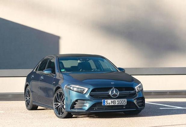 La Mercedes AMG A35 se déclinera en berline trois volumes