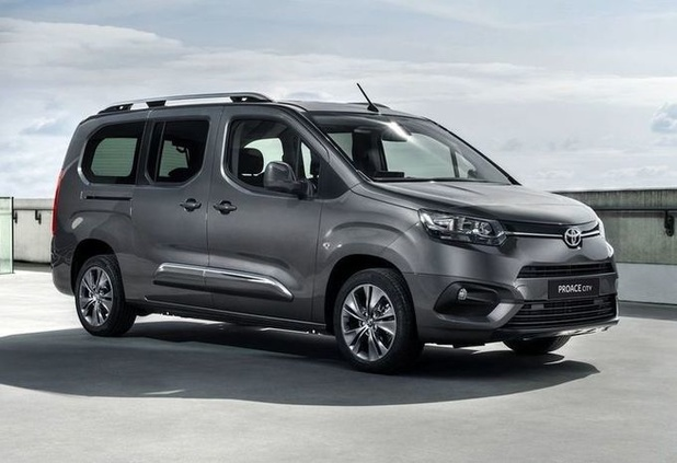 Toyota lanceert ProAce City Verso