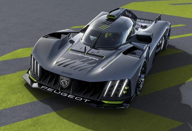 Peugeot 9X8 is nieuwe Le Mans-racer