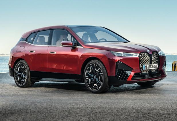 BMW onthult opvallende elektrische iX SUV