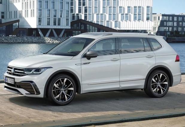 Volkswagen frist Tiguan Allspace op
