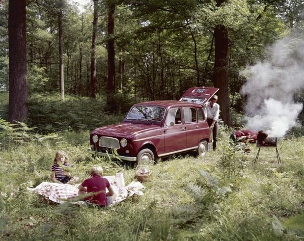 Le R4 Club de Belgique fête les 60 ans de la Renault 4