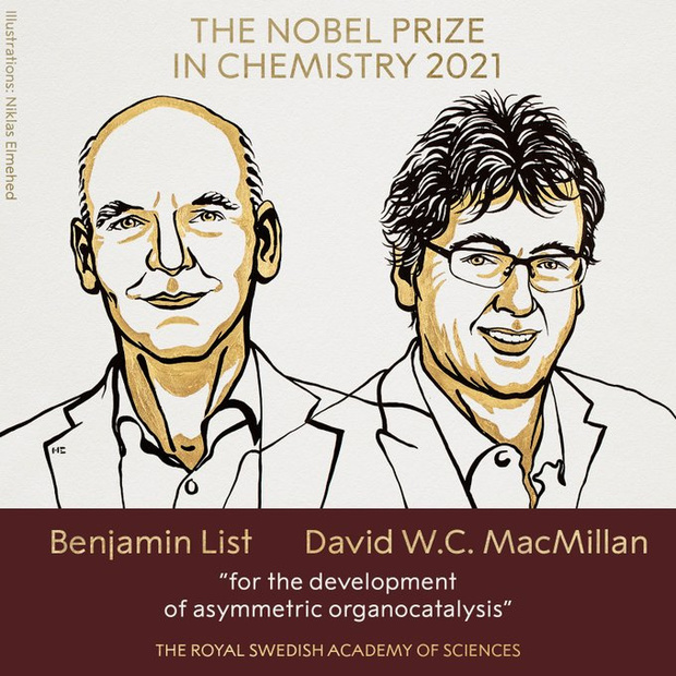 Le Nobel de Chimie à un duo germano-américain champion des catalyseurs