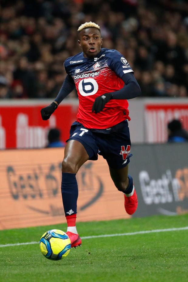 Victor Osimhen, meilleur joueur africain de l'année en France