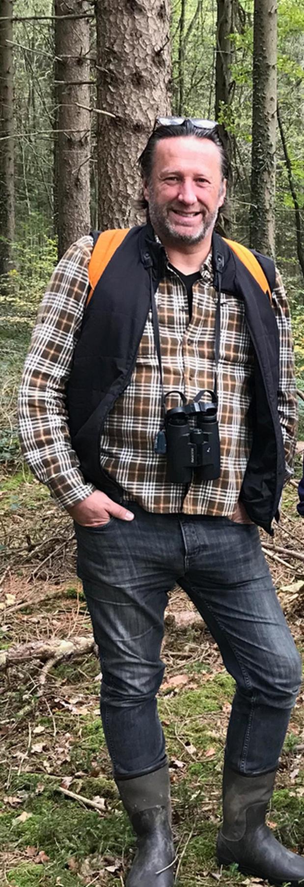 Ignaas Robbe is fervent vogelaar