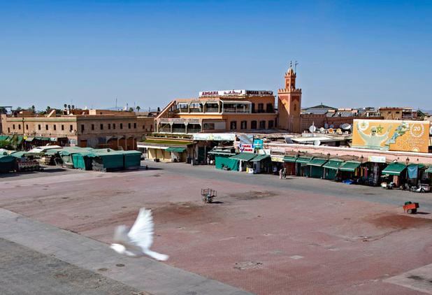 Marrakech étouffe faute de touristes
