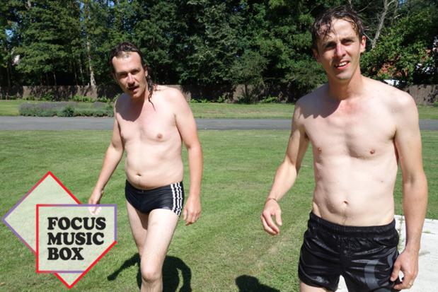 Ook Kidiot, het punknoiseproject van Bert Ostyn en Nick Defour, naar Focus Music Box