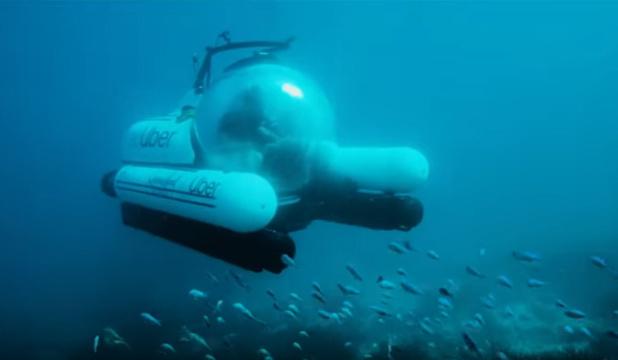 scUber, le sous-marin touristique pour admirer la Grande barrière de corail (vidéo)