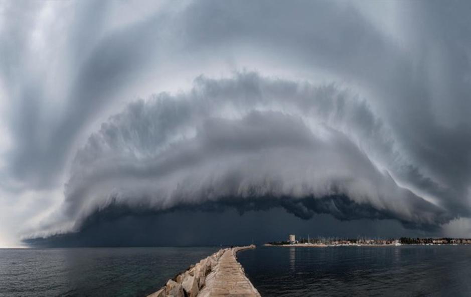 Les plus belles photos de phénomènes météo de l'année 2020