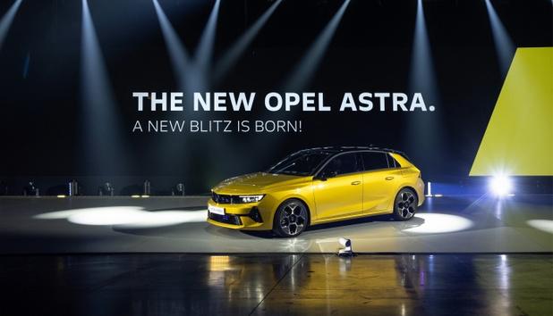 Opel révèle la nouvelle Astra