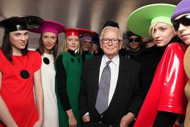 In memoriam: Pierre Cardin, de laatste futurist van de mode