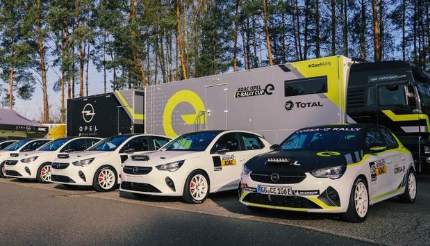 Opel livre les premières Corsa-e Rally