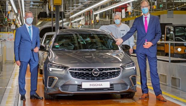 Coup de jeune pour l'Opel Insignia