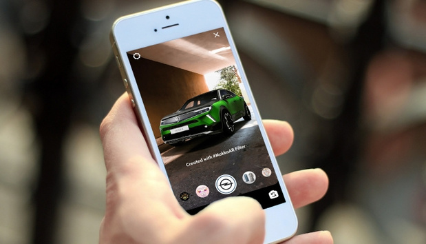 Le nouvel Opel Mokka en réalité augmentée