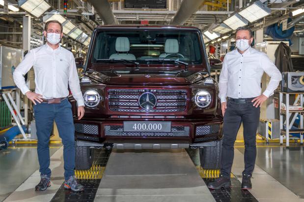 Mercedes G Klasse rolde al 400.000 keer van de band