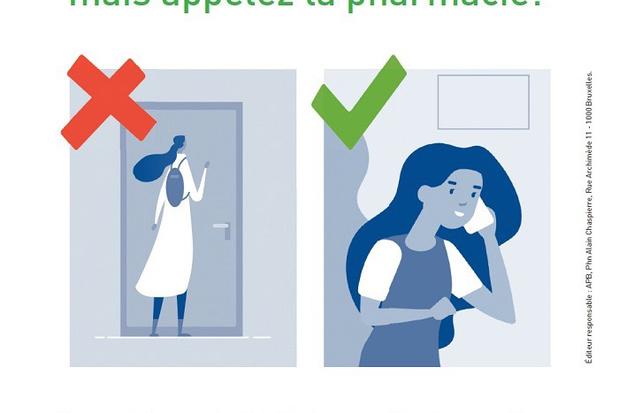 """""""N'oubliez pas les pharmaciens!"""""""