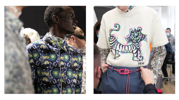 Homme | La mode joyeuse et psychédélique de Dior contre la morosité ambiante