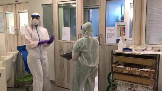 Covid : Près de 800 patients aux soins intensifs