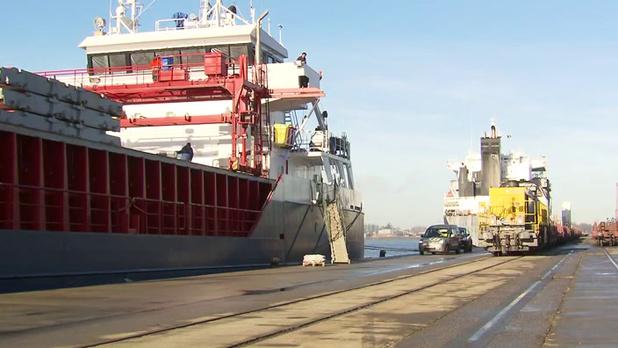Fusiehaven North Sea Port vervoert meer goederen via binnenvaart