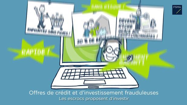 Mise en garde de la FSMA contre de nouvelles plateformes frauduleuses