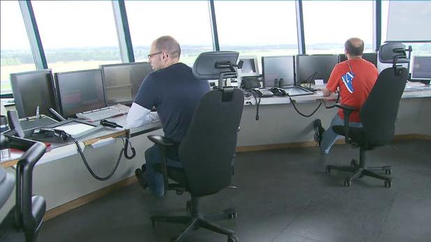 Tensions sociales chez Skeyes: une partie de l'espace aérien belge à nouveau fermée durant la nuit prochaine