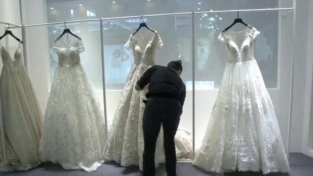 Le nombre de mariages en chute l'année dernière