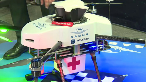 Antwerpen test medisch transport per drone
