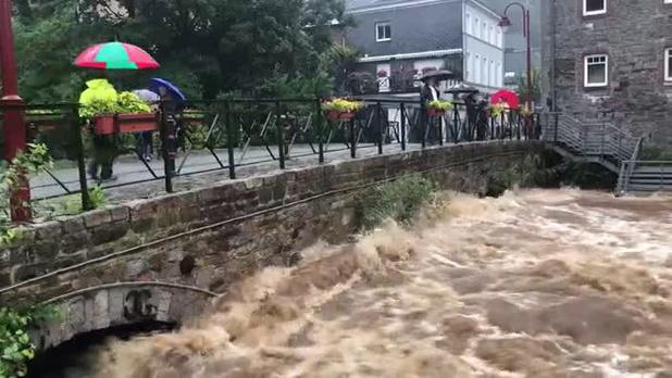 Intempéries: l'administration wallonne appelle à la vigilance sur l'état des eaux ce week-end