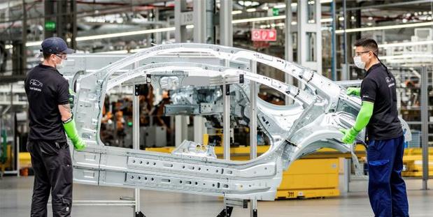 Toutes les usines Mercedes ont repris leurs activités