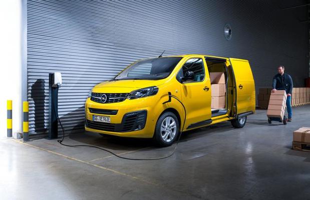 Nieuwe elektrische Opel Vivaro-e