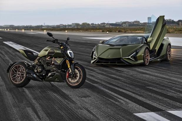 Ducati onthult de Diavel 1260 Lamborghini