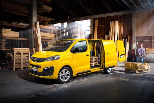 Vivaro-e is de nieuwe elektrische bestelwagen van Opel