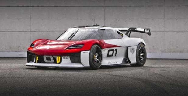 Porsche rijdt een krachtpatser voor