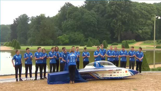 Belgische zonnewagen wint European Solar Challenge