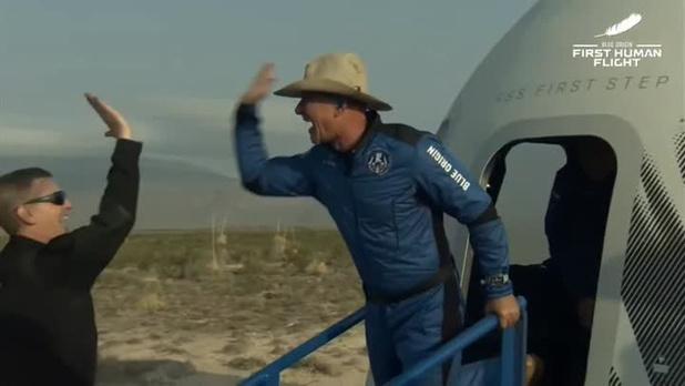Bezos offre à la NASA 2 milliards de dollars pour un contrat d'atterrisseur lunaire