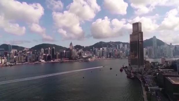"""Pékin fustige """"une logique de bandits"""" après les critiques étrangères sur Hong Kong"""