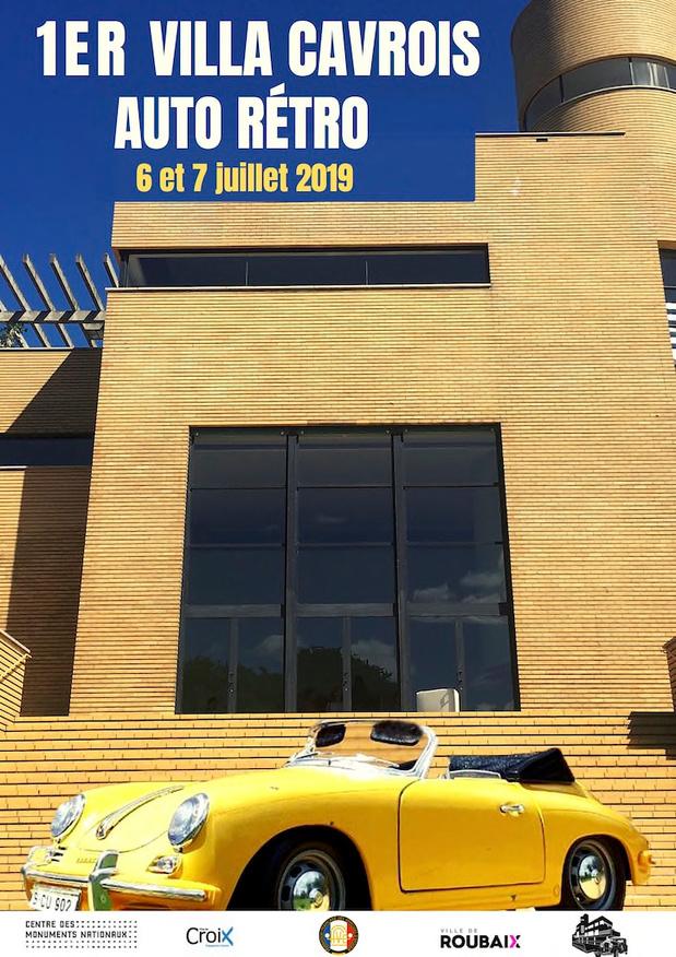 Villa Cavrois Auto Rétro, la première !