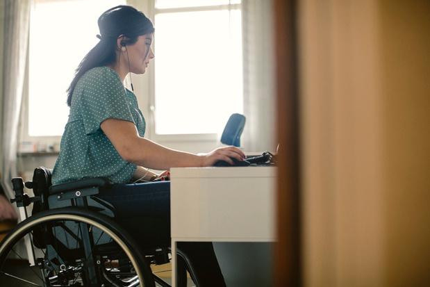 'Breid thuiswerk uit voor mensen met een handicap'
