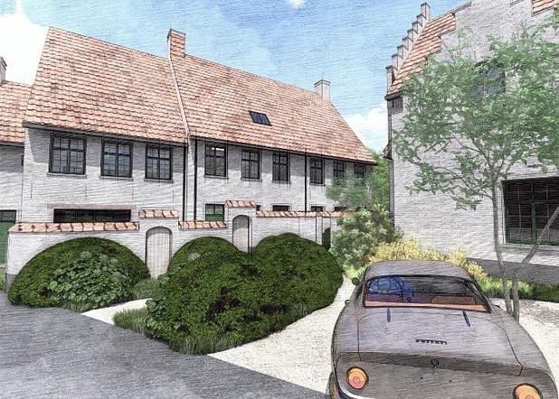 Woningbouwproject in Otegem geïnspireerd door begijnhof in Kortrijk