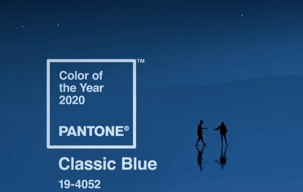 Pantone voorziet 'klassiek blauw' 2020
