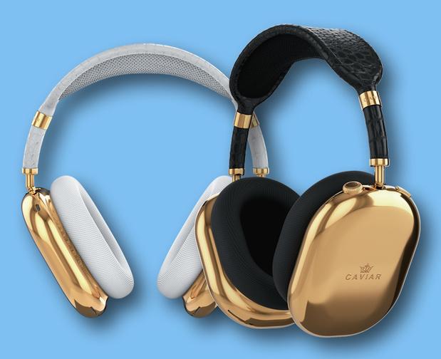 Een gouden editie van de Apple AirPods Max voor 44.000 euro... per oor
