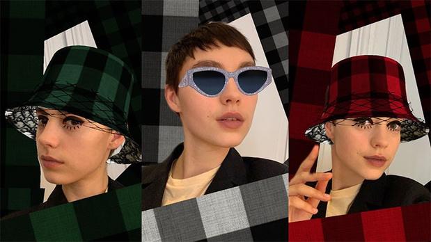 Dior lance un filtre Instagram qui permet d'essayer maquillage et accessoires de la marque