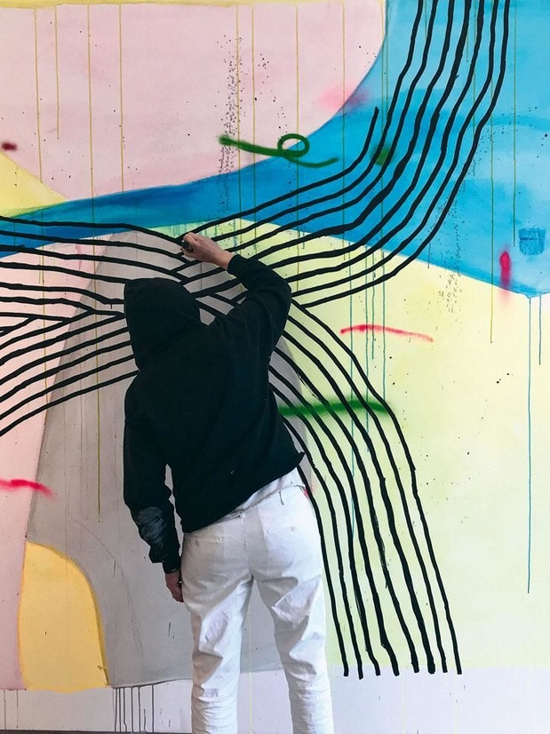 Alicia McCarthy, toiles vibrantes
