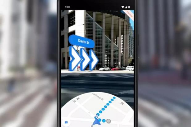 Google Maps vous montre désormais aussi la voie à suivre en réalité augmentée