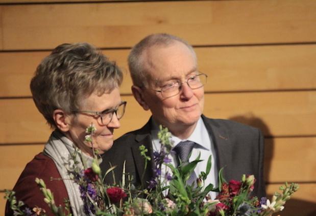 Syndicaal boegbeeld Marc Moens in de bloemetjes