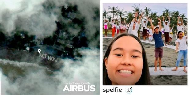 Nieuwe app maakt selfies vanuit de ruimte