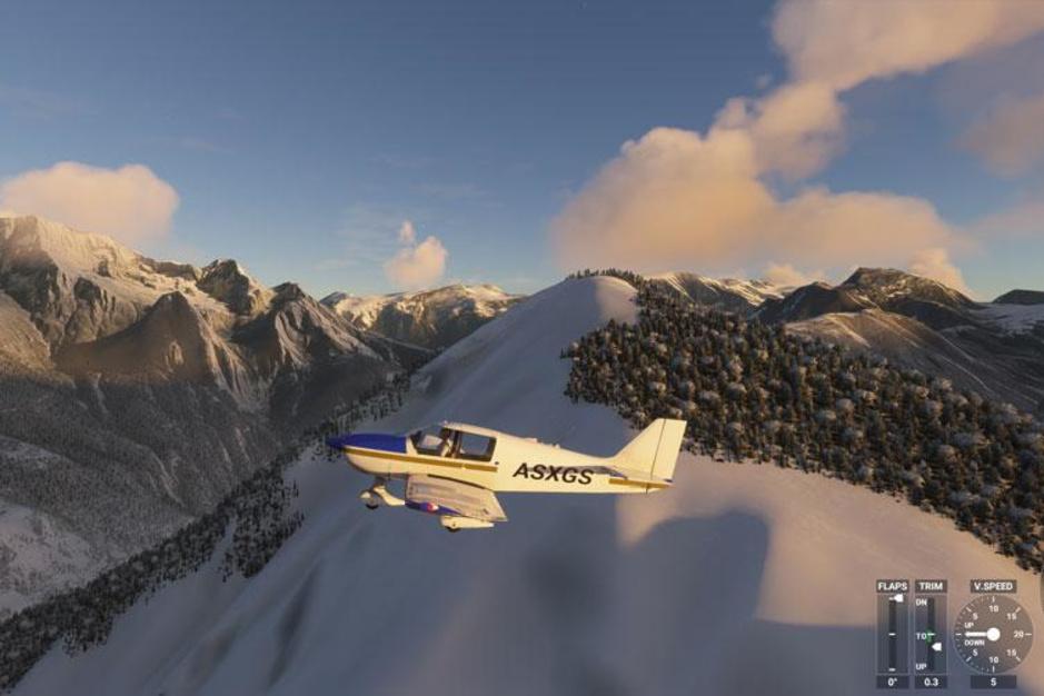 Piloot op pantoffels: kruip in de virtuele cockpit van de Flight Simulator 2020