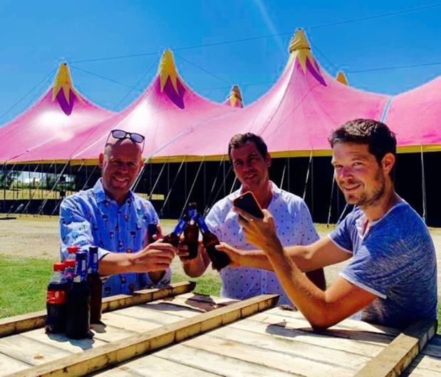 Festivalgangers kunnen elkaar binnenkort trakteren via een app