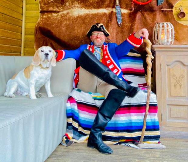 Jimmy Thys kruipt in huid van kapitein Bloothoofdt om kinderen avontuur te brengen